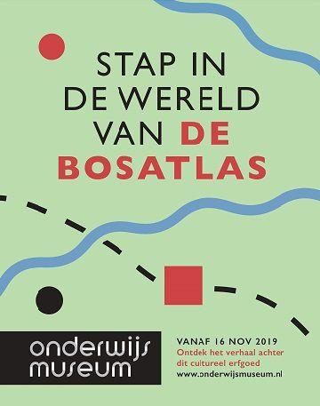 affiche 'Stap in de wereld van De Bosatlas'
